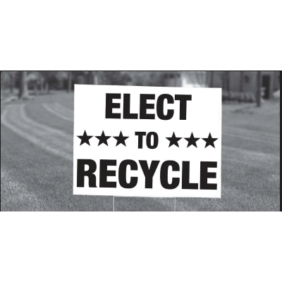 Campaign Sign Recycling
