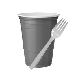 Cups, Lids & Utensils